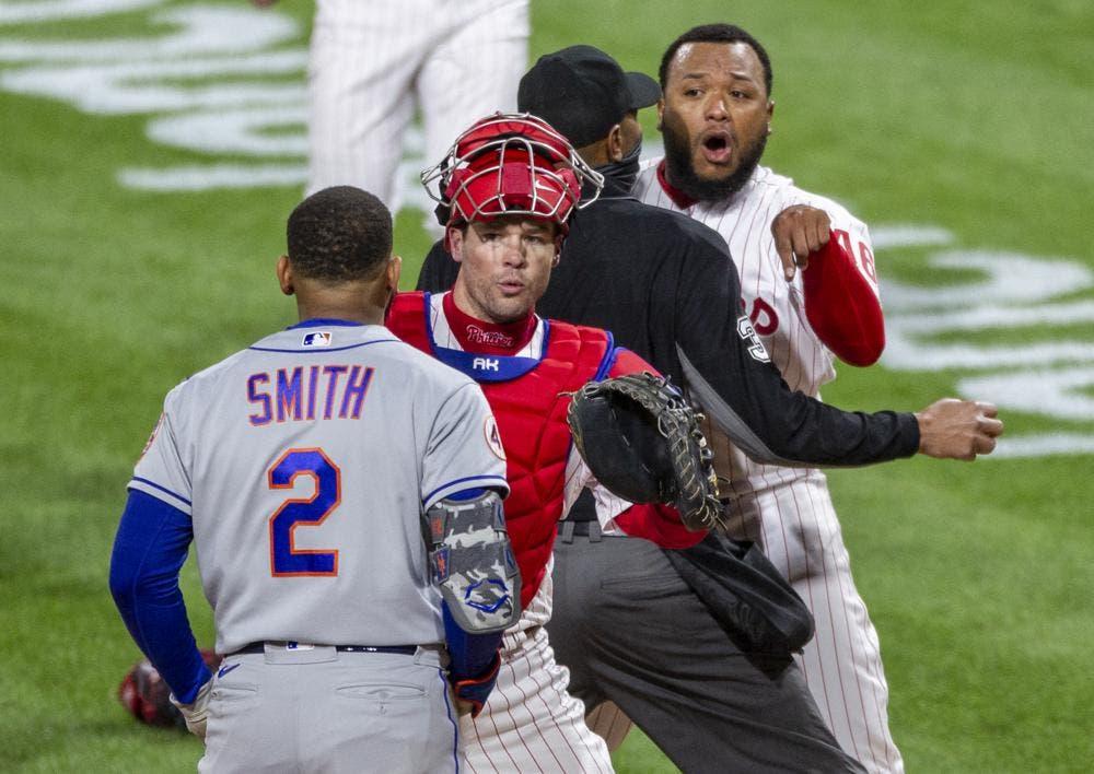 Relevista Alvarado de Filis suspendido 3 juegos por pelea con Mets