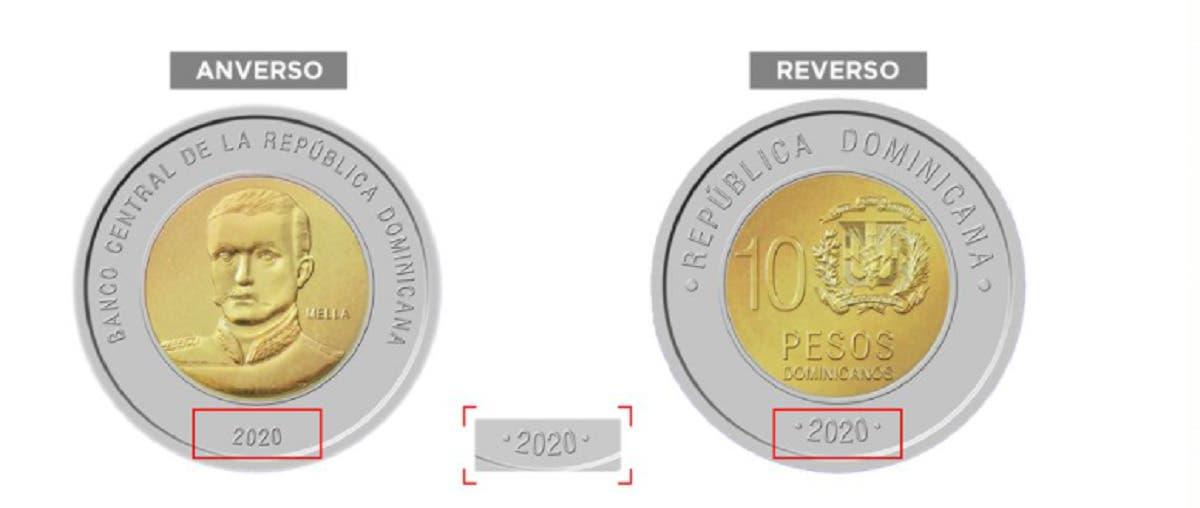 A partir del lunes 24 de mayo circulará nueva moneda de RD$10