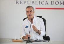 presidente Luis Abinader, El Día