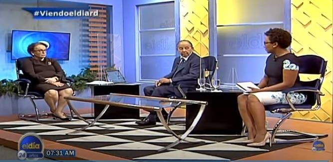 Miriam: «El día que quieran restar o manipular mi independencia, entregó el cargo»