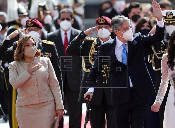 Comienza ceremonia de investidura del presidente de Ecuador Guillermo Lasso