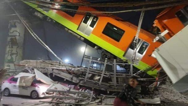 Solicitarán peritaje internacional por accidente en metro de Ciudad de México