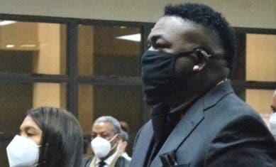 Fiscalía debe concluir en un caso David Ortiz
