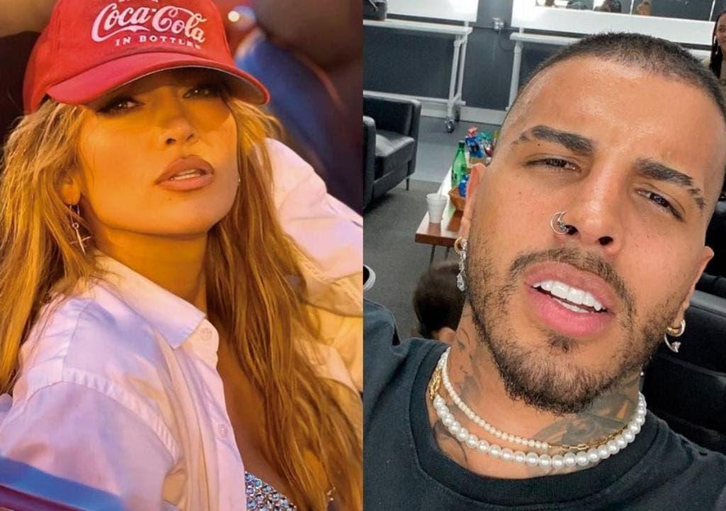 Jennifer López y el rapero Rauw Alejandro ruedan un video clip en Miami Beach