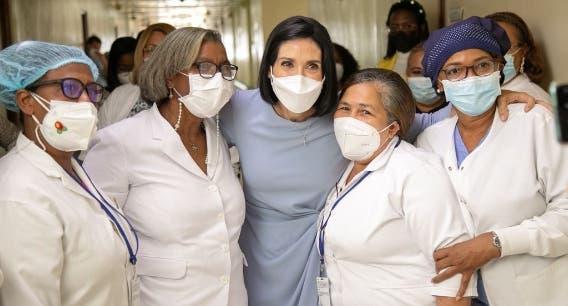 Primera Dama motiva a las mujeres a prevenir cáncer