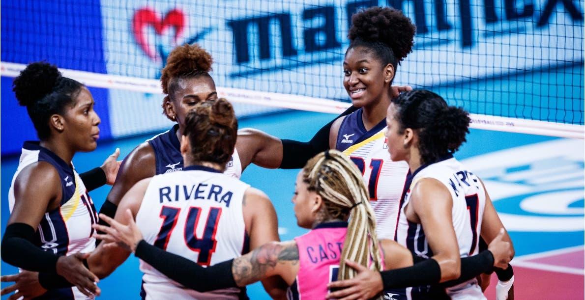 República Dominicana mejora el respeto de potencias  voleibol