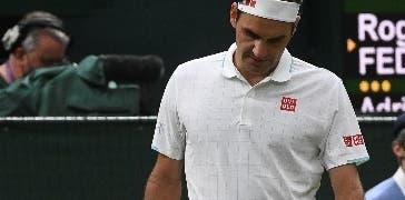 Roger Federer vence pero se siente avergonzado del resultado