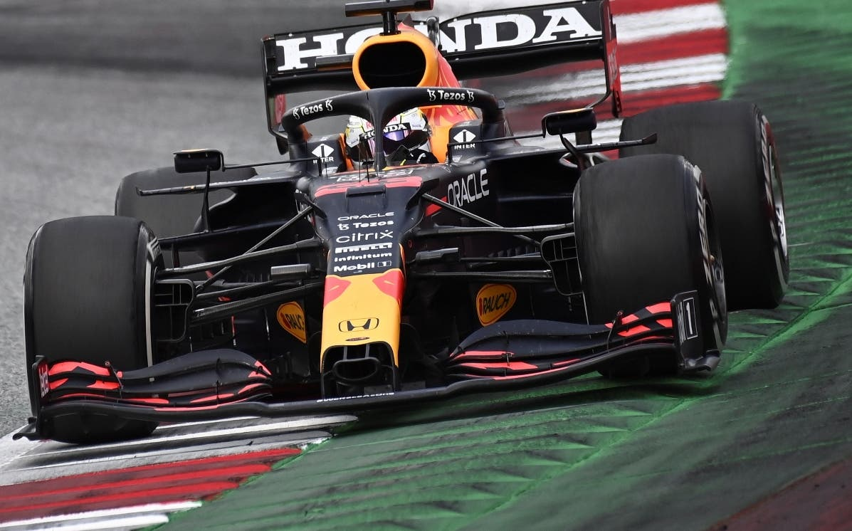 Max Verstappen sale airoso en Gran Premio de Estiria