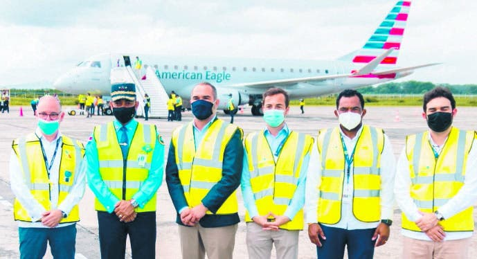 CESAC  participa  vuelo de American Airlines