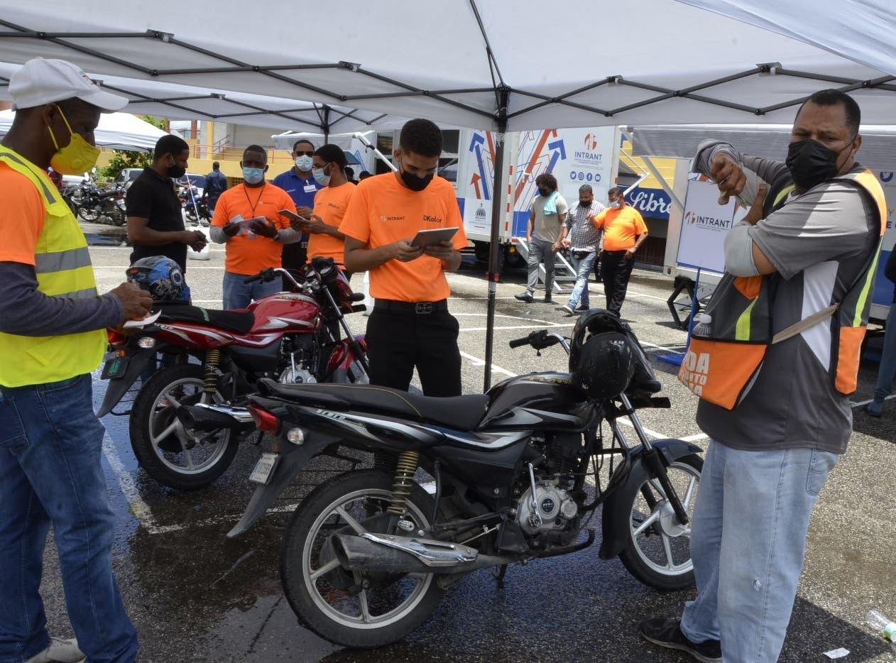 Más de 32 mil motocicletas han sido registradas en plan seguridad ciudadana