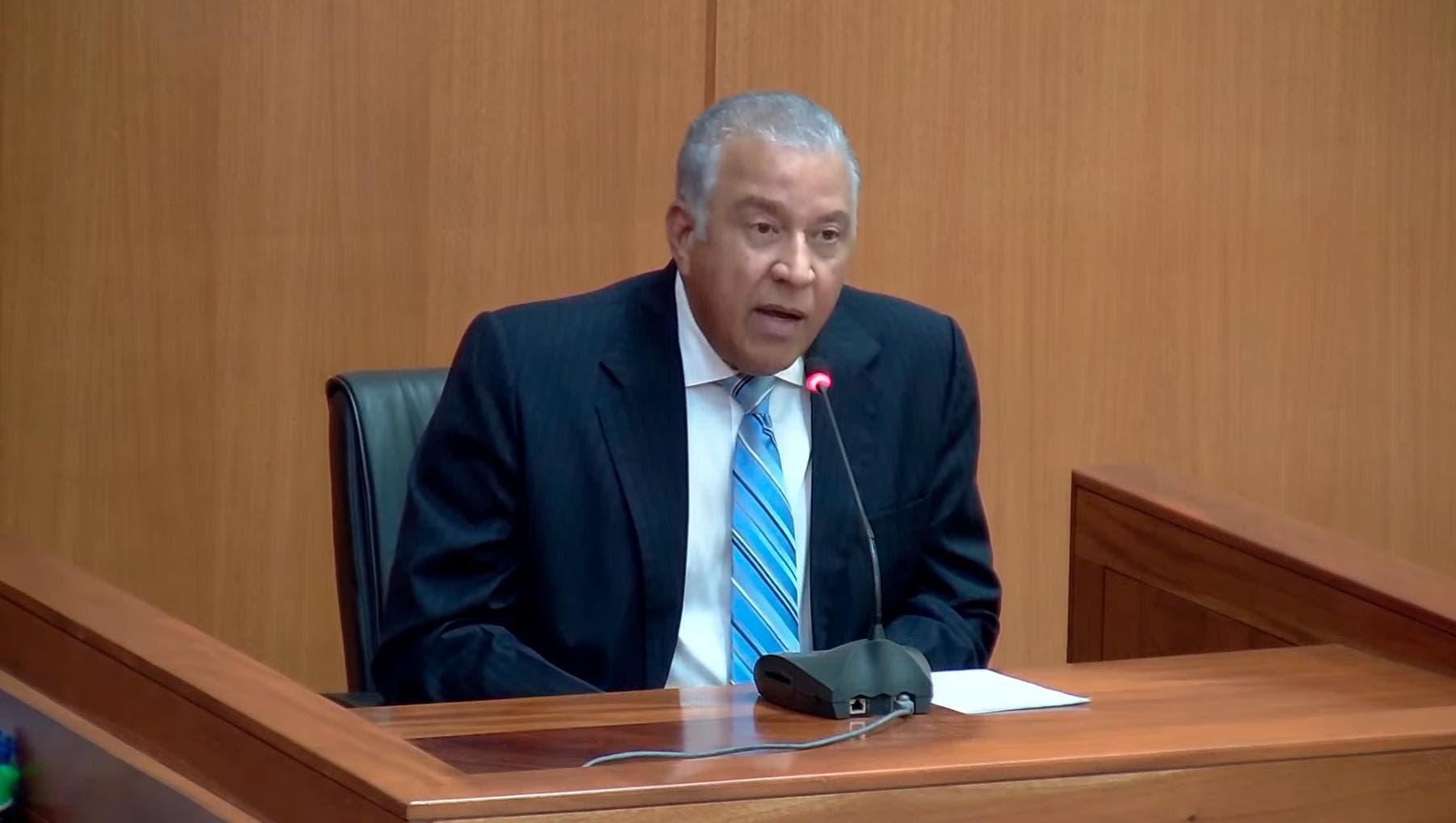 Ministerio Público asegura que Andrés Bautista omitió la presentación de bienes en su declaración jurada