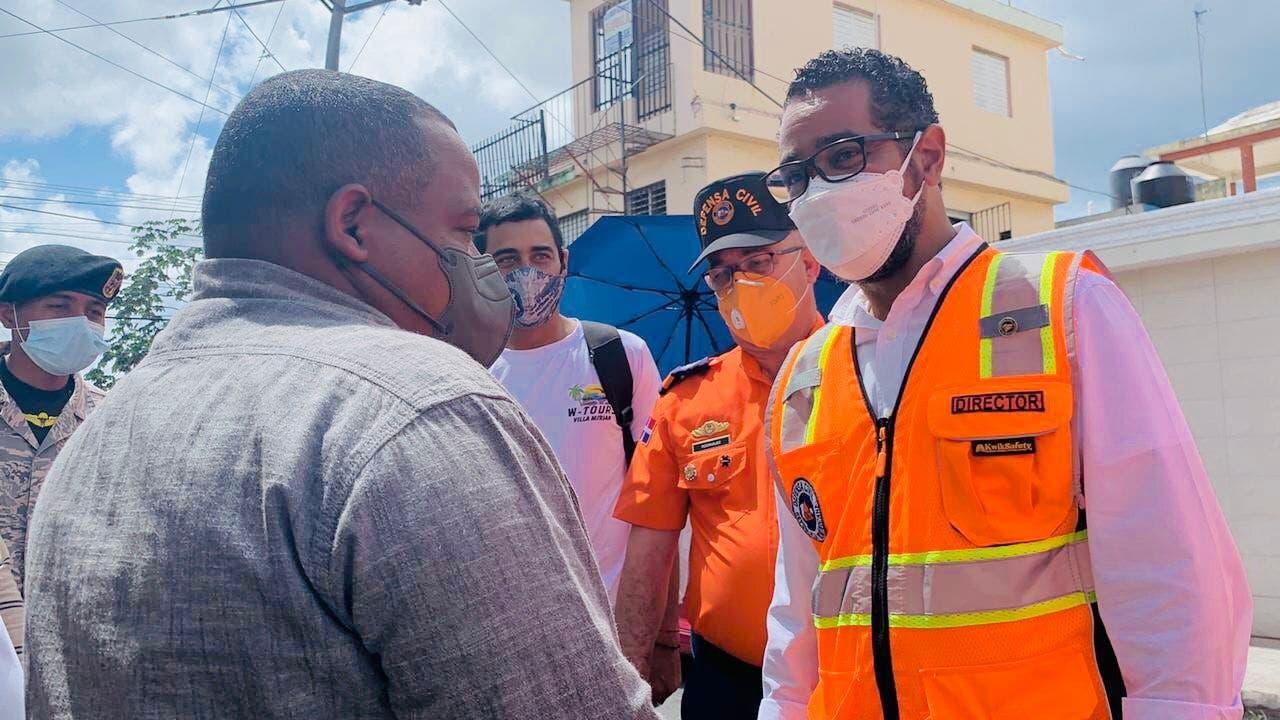Defensa Civil apoya jornada especial de vacunación contra COVID-19
