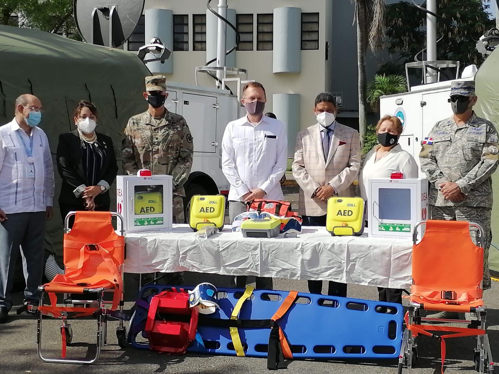 Estados Unidos hace donación a RD para lucha contra el COVID-19