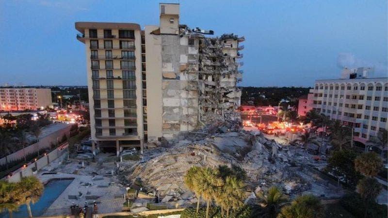 Sube a 94 la cifra de muertos en el derrumbe del edificio en Miami-Dade