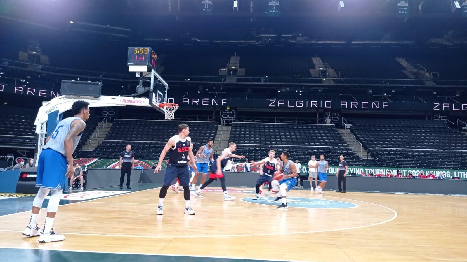 Selección Baloncesto RD vence a Rusia