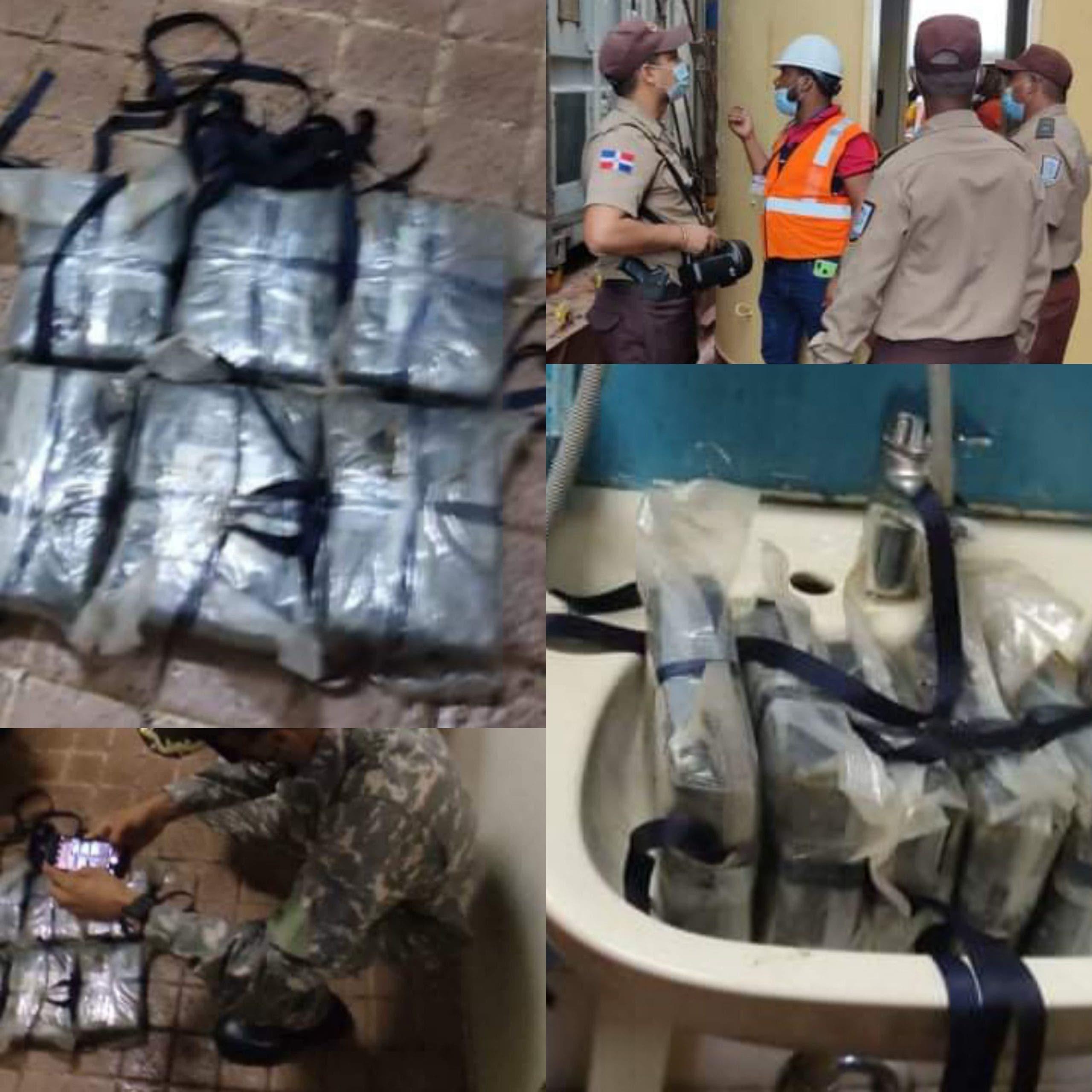 Hallan 6 paquetes de cocaína en barco mercante surto en muelle comercial de Puerto Plata