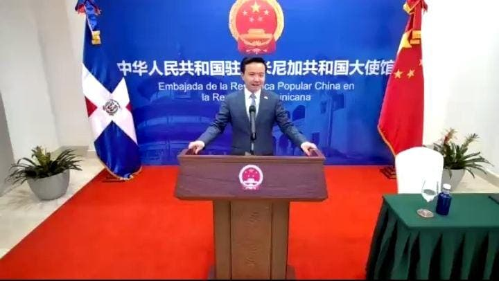 China, aliado fundamental de RD en la lucha contra el Covid