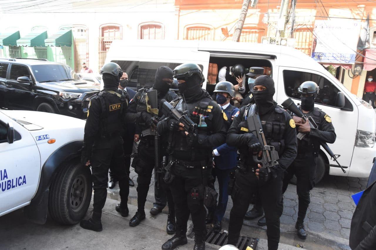 Trasladan a Jean Alain a cárcel de Najayo bajo estrictas medidas de seguridad