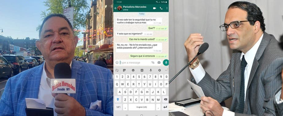 Periodista en NY denuncia a su nombre amenazan embajador Michelen