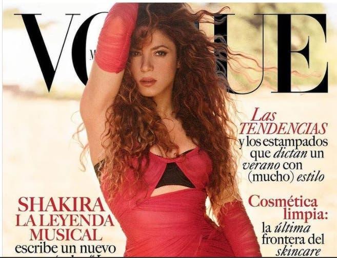 Shakira protagoniza la portada de Vogue