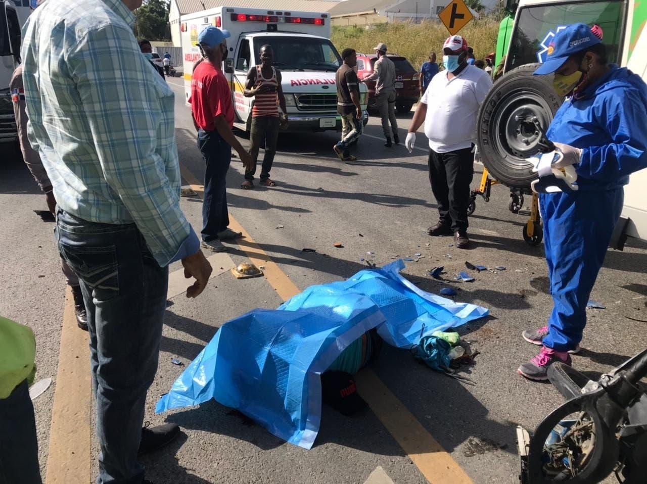 Hombre muere en accidente de tránsito registrado en carretera Puerto Plata-Cofresí