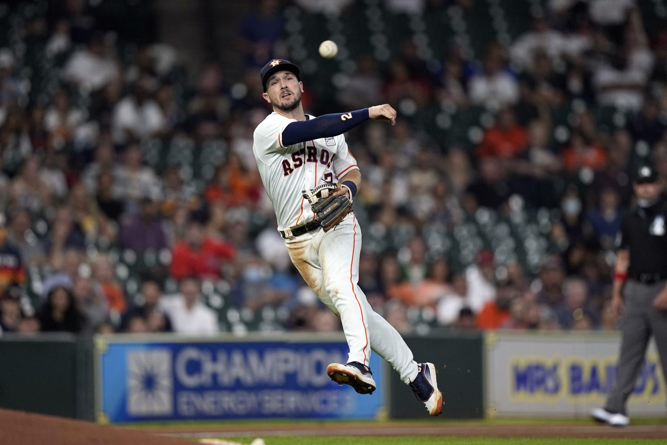 Astros colocan a Bregman en la lista de lesionados