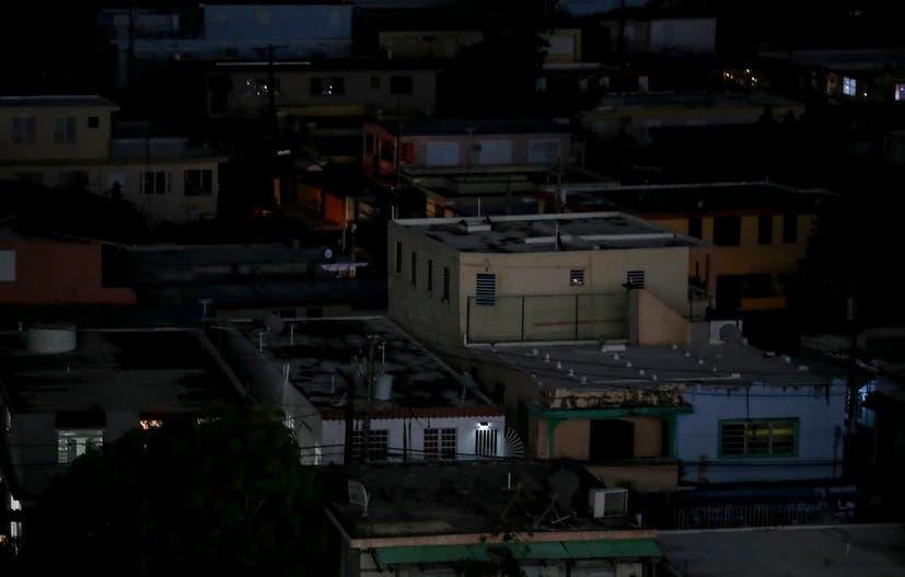 Puerto Rico sufre un apagón generalizado en la capital y municipios vecinos