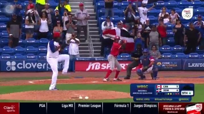 RD vence 6-5 a Canadá en el preolímpico de béisbol