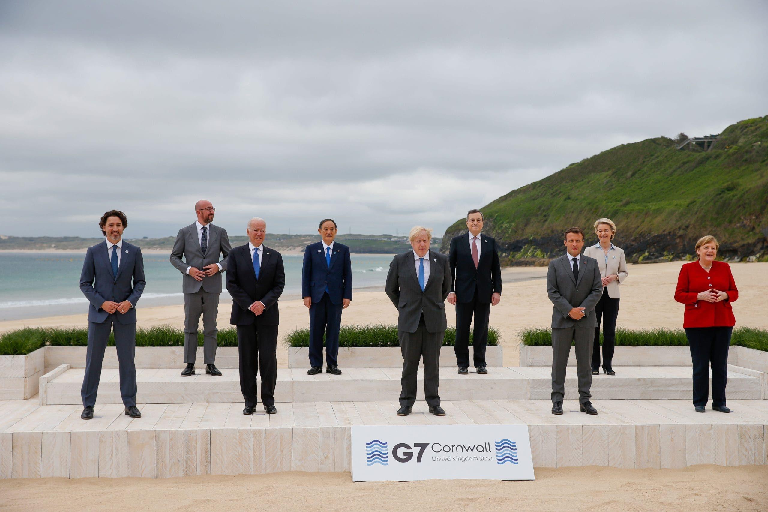 G7 inicia cumbre prometiendo donar vacunas contra COVID-19