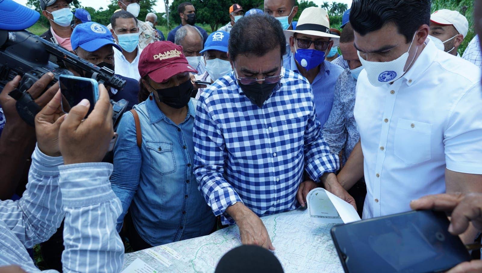 INDRHI e INAPA garantizan agua potable y para riego agrícola en Dajabón