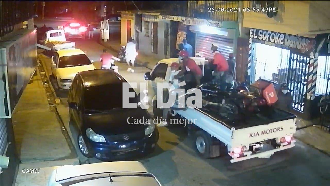Banda armada roba motores en Maquiteria y atemoriza a policías