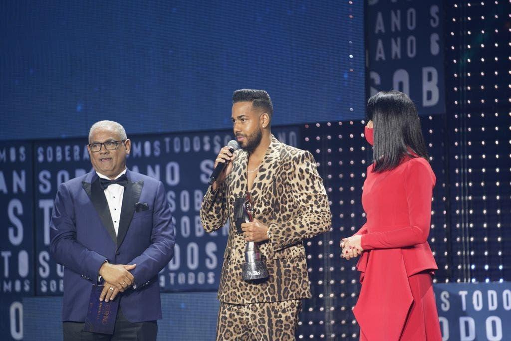 Niní Cáffaro y Romeo Santos reciben el Gran Soberano 2019  y 2020
