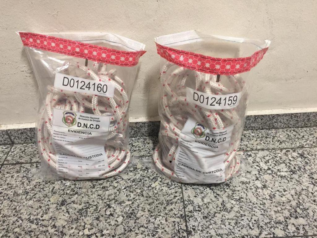 Ocupan cocaína en interior de sogas serían enviadas a Miami por el AILA