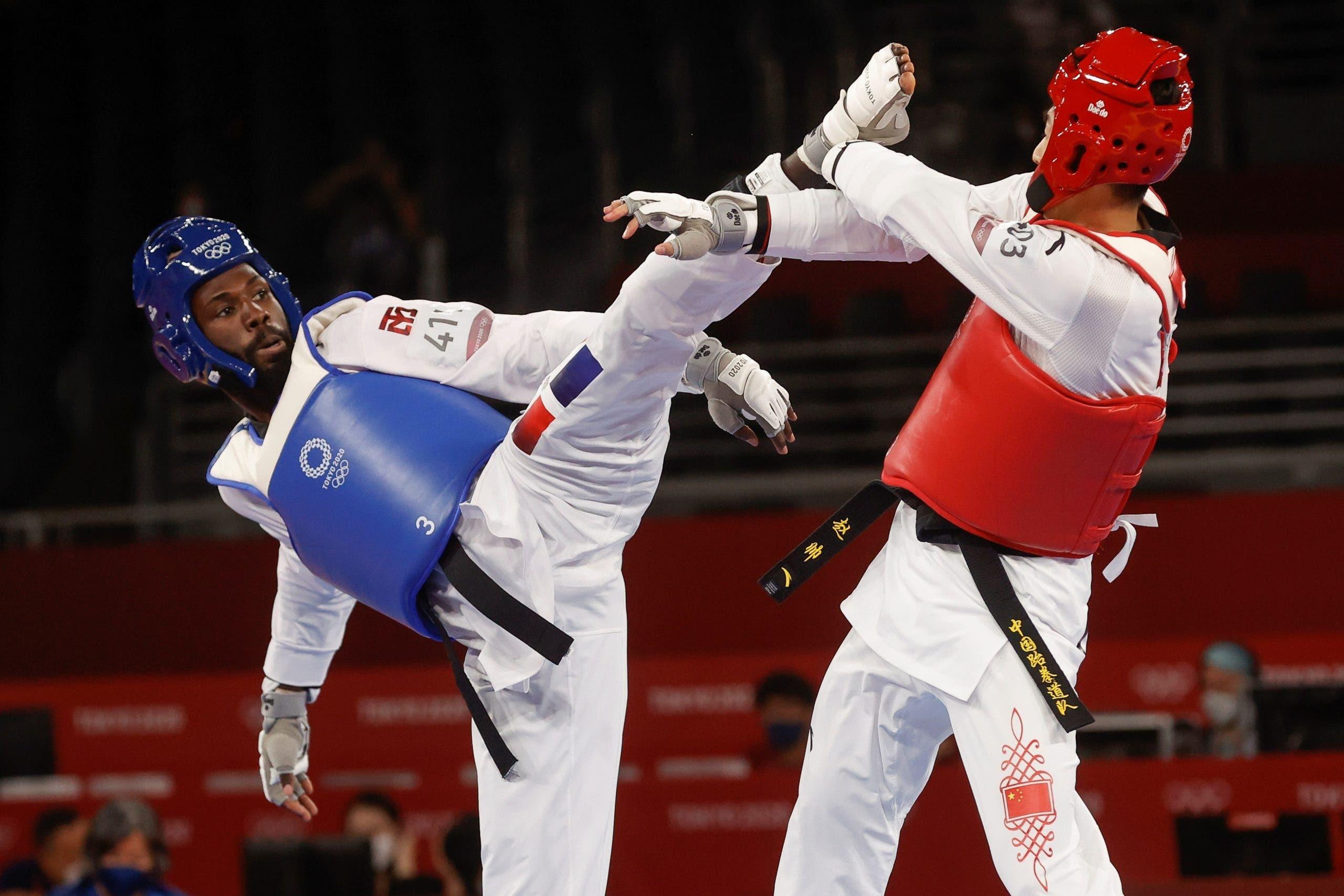Bernardo Pie avanza a cuartos de final en taekwondo en Juegos Olímpicos de Tokio