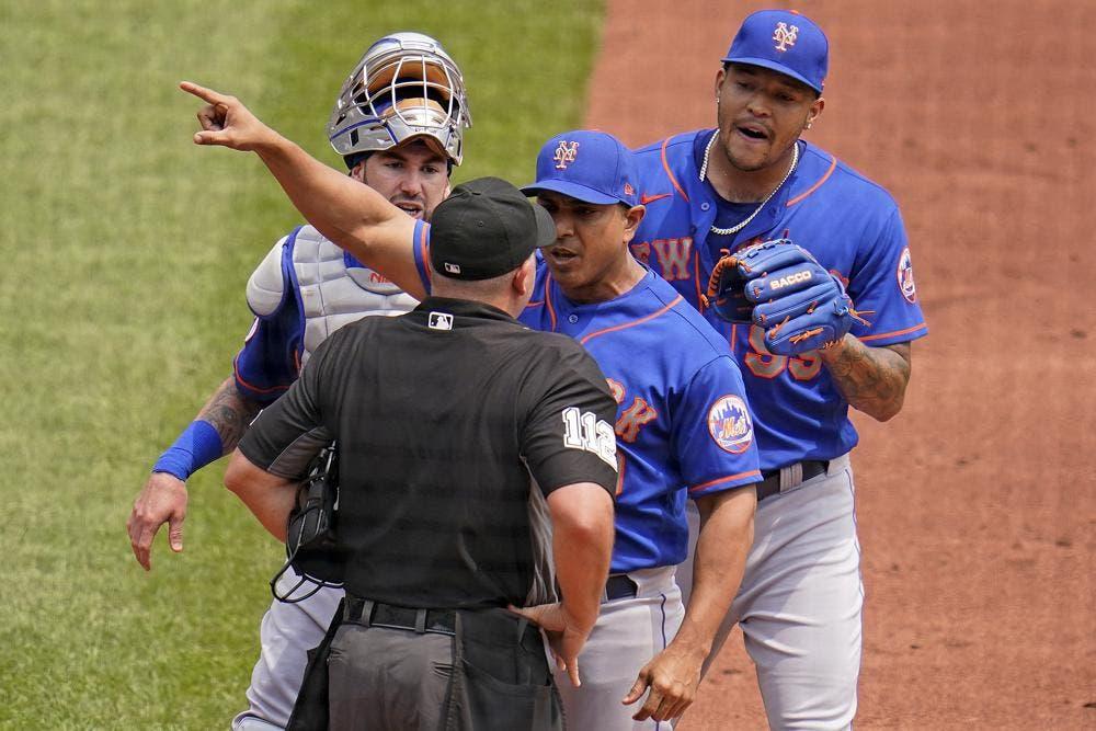 Dirigente de los Mets Luis Rojas, suspendido dos juegos por fuerte discusión