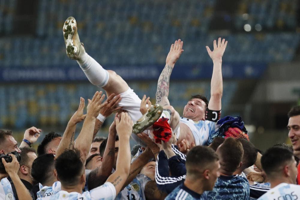 Messi y Argentina campeones de la Copa América y ponen fin a un ayuno de 28 años sin títulos