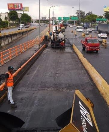 Trabajos en el Puente Juan Bosch fueron  concluidos