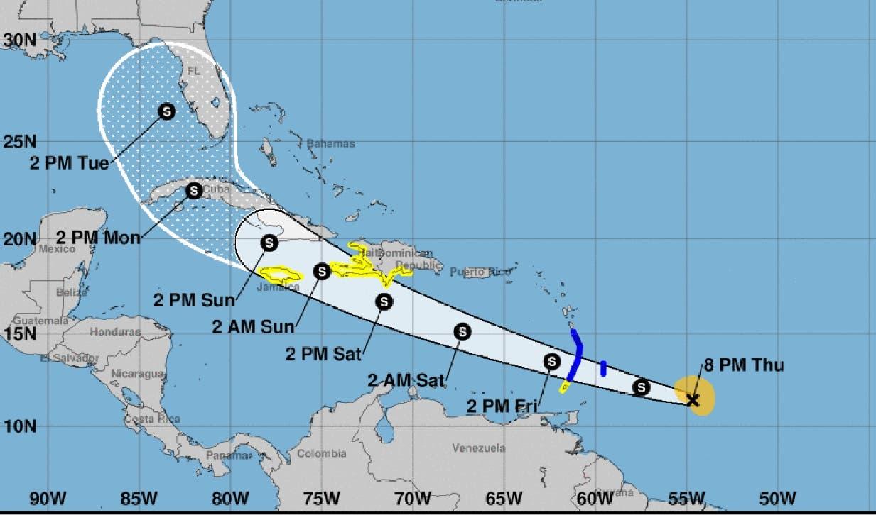 El COE eleva a 14 provincias en alerta por tormenta Elsa