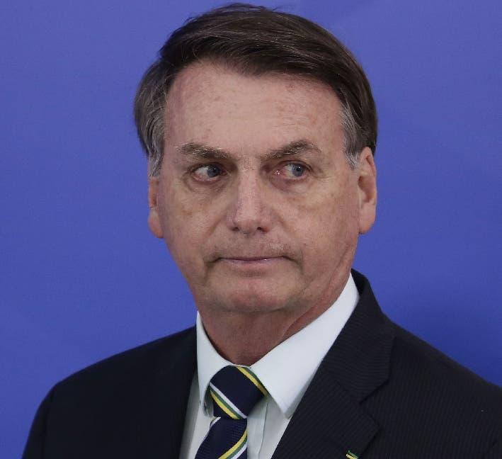 Protesta pide la destitución de Jair Bolsonaro