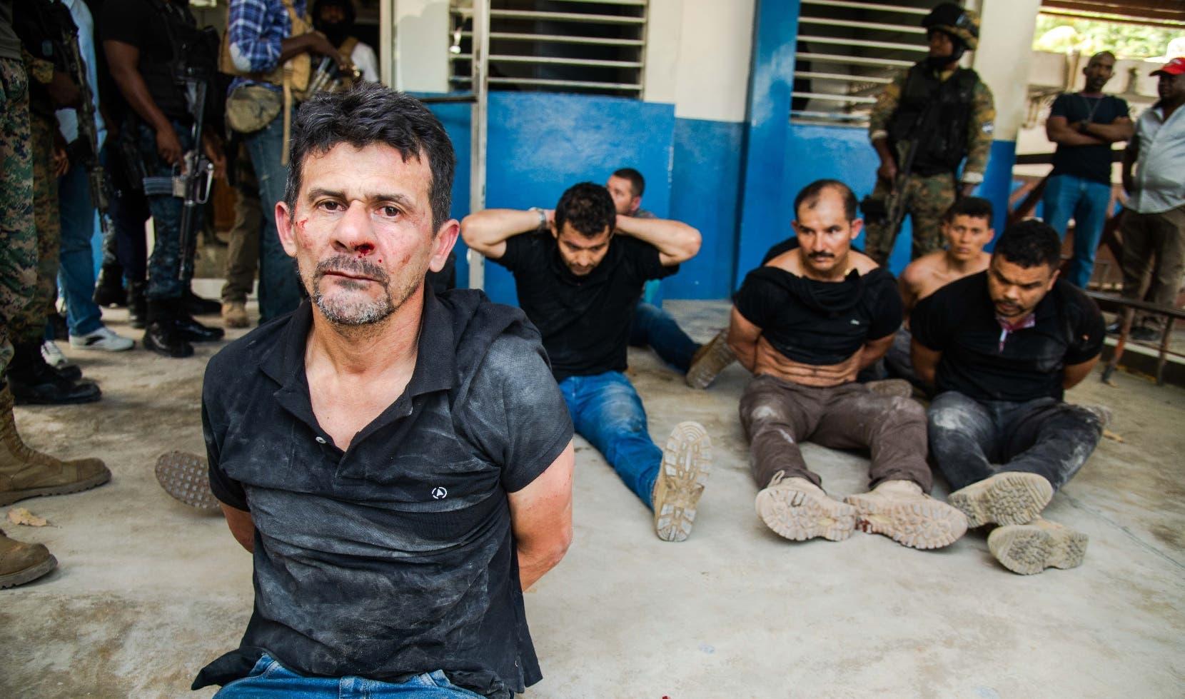 El Pentágono revela EE.UU. entrenó a algunos de los mercenarios colombianos detenidos en Haití
