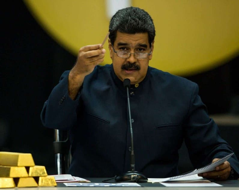 Nicolás Maduro alerta sobre robo de oro venezolano