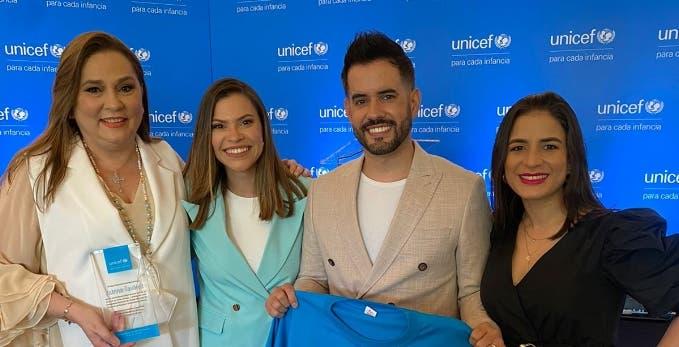 Unicef RD nombra a Manny Cruz Embajador Nacional