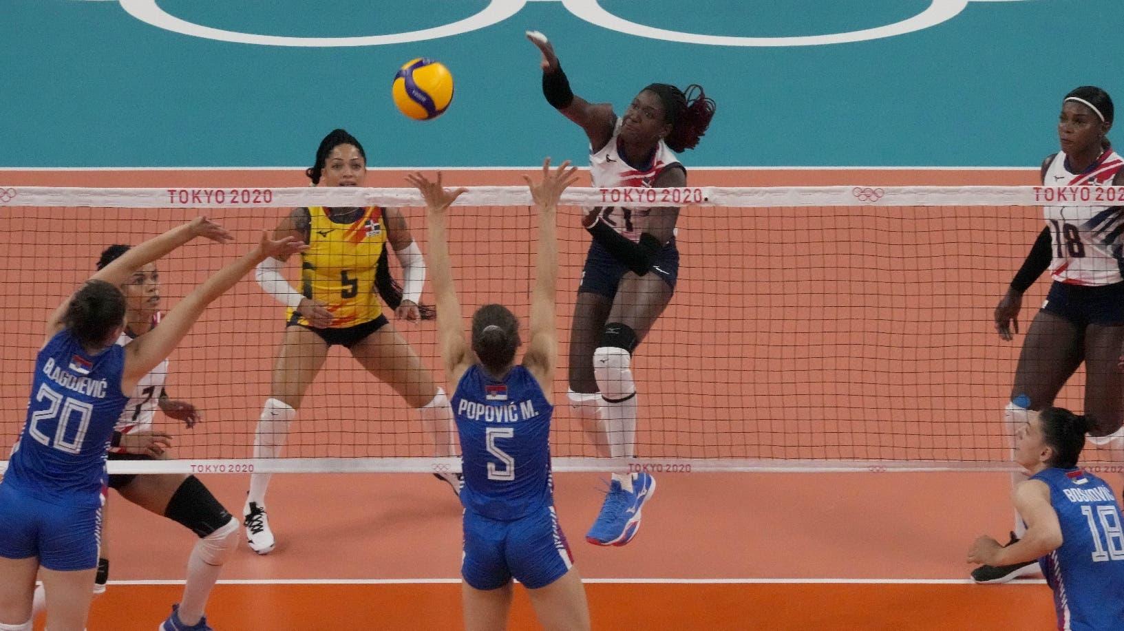 Reinas no se amilanan pese a derrota ayer ante Serbia en Juegos Tokio