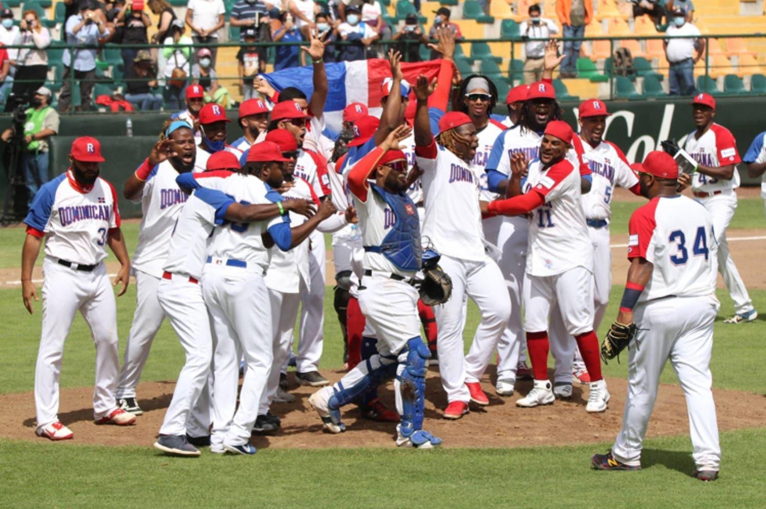 El oro es único  enfoque béisbol RD juegos Tokio