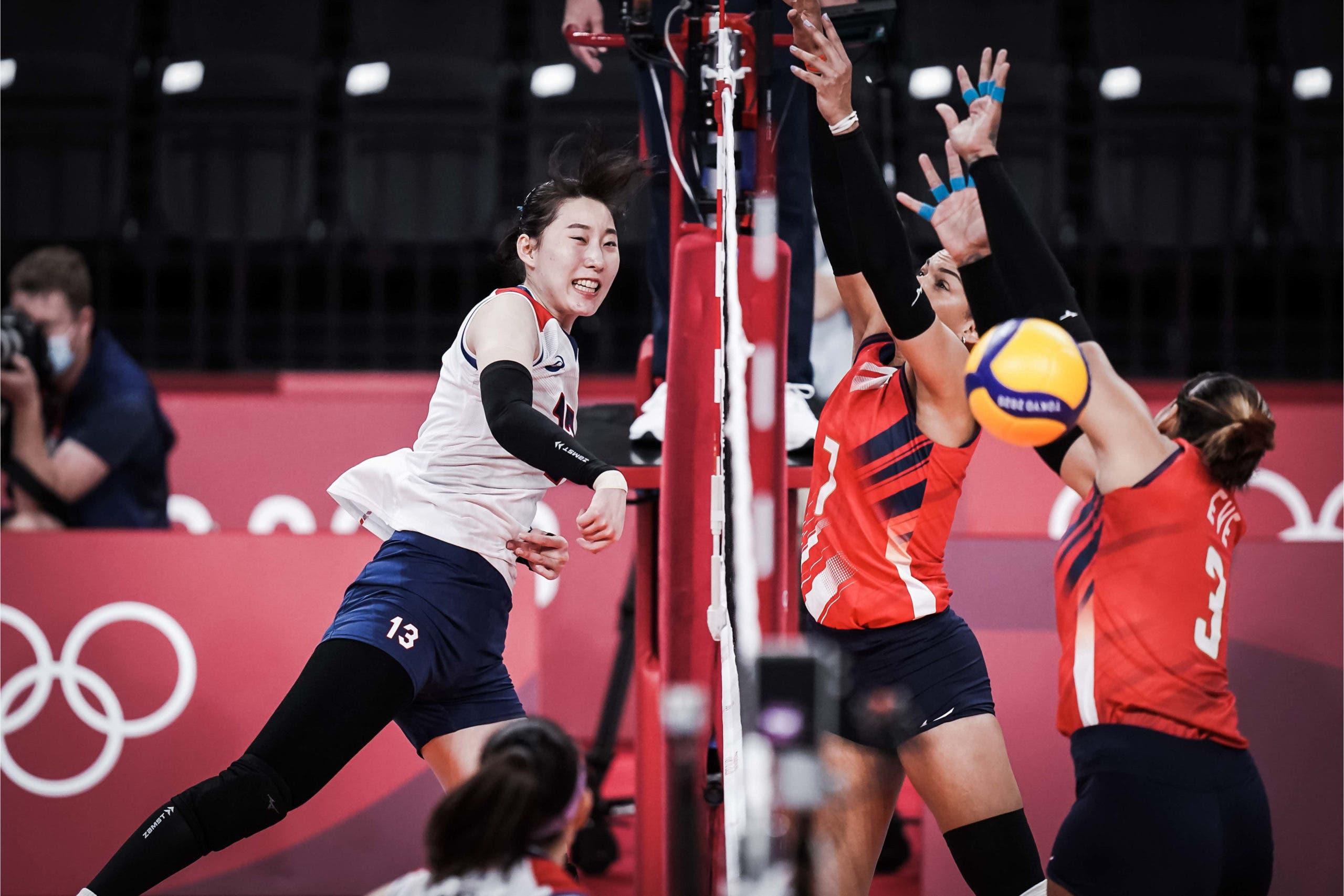 Las Reinas del Caribe pierden 3-2 ante Corea  en los Juegos Olímpicos