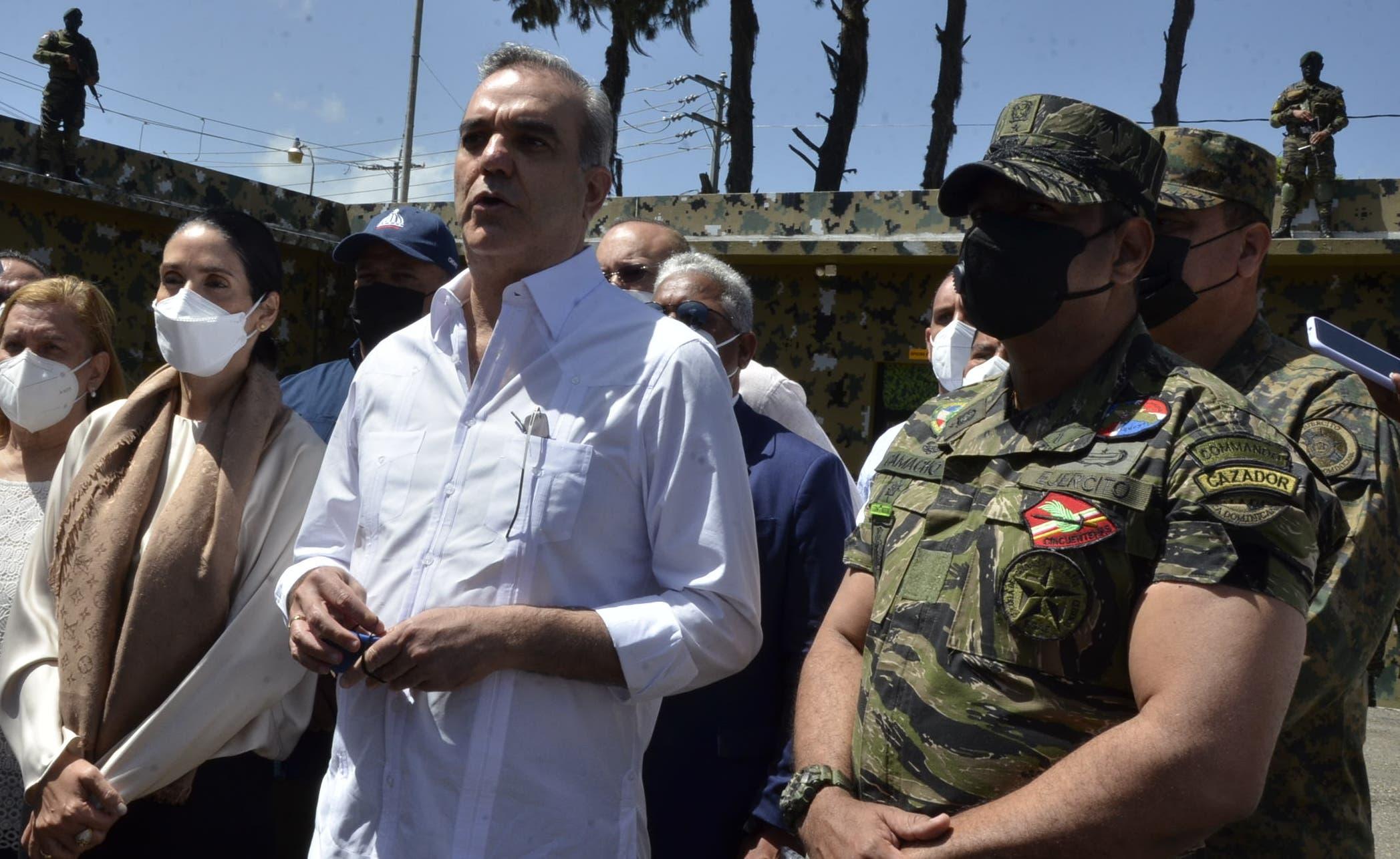 Presidente Abinader solicita   más responsabilidad con Haití