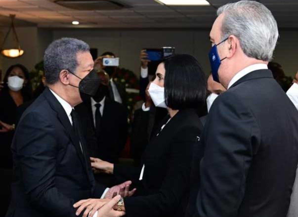 La muerte de doña Yolanda congrega a  líderes de la política