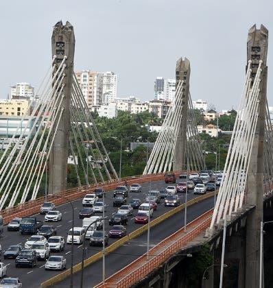 El puente Juan Bosch ha sido rejuvenecido