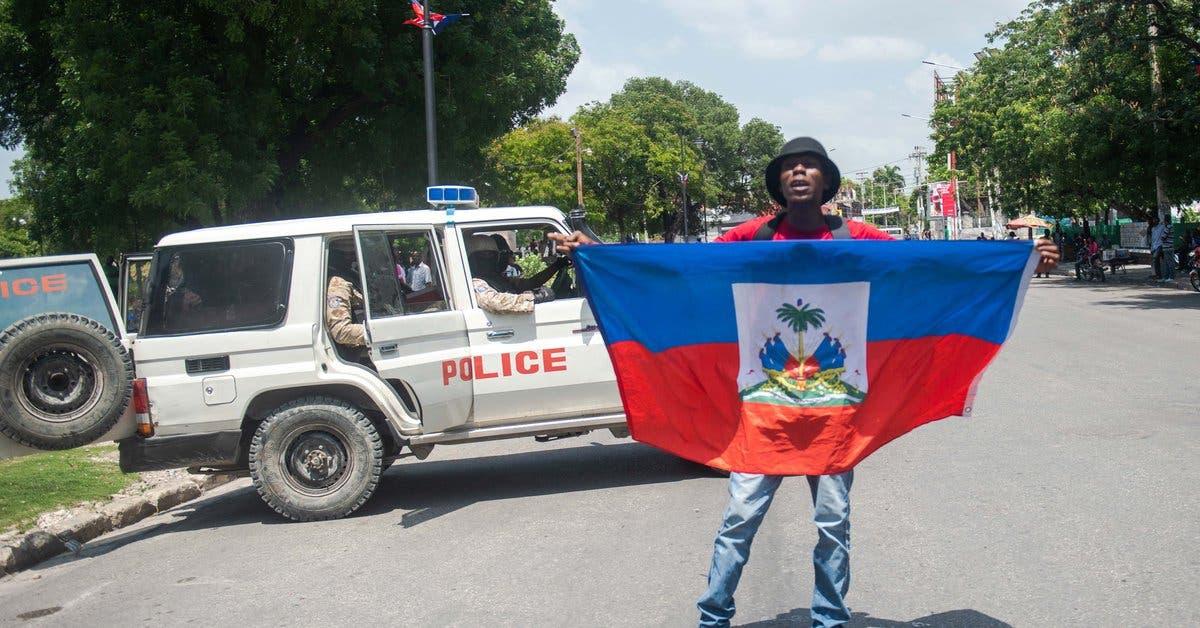 Haitianos se manifiestan contra la injerencia extranjera