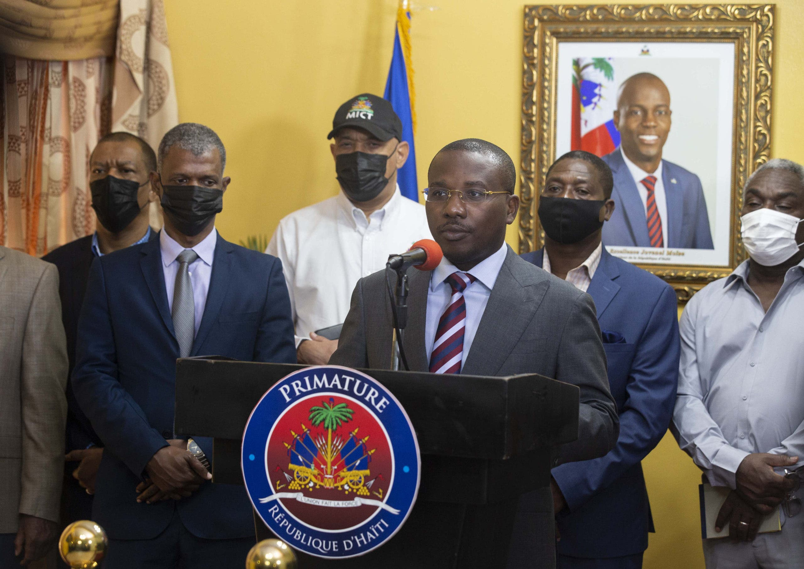 Estados Unidos ve a Claude Joseph como primer ministro de Haití